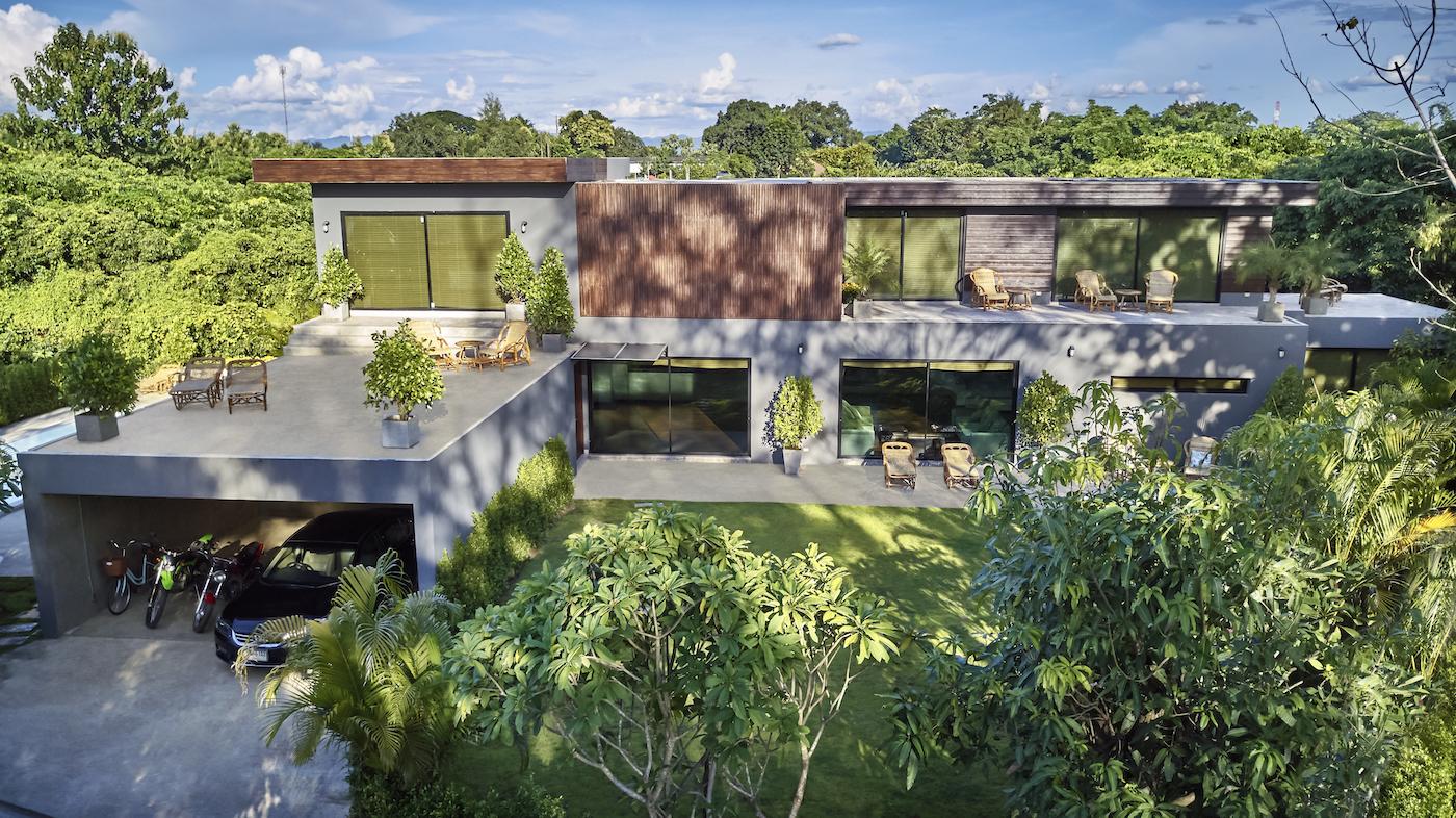 Natural Villas | Chiang Mai | Front of the Villa