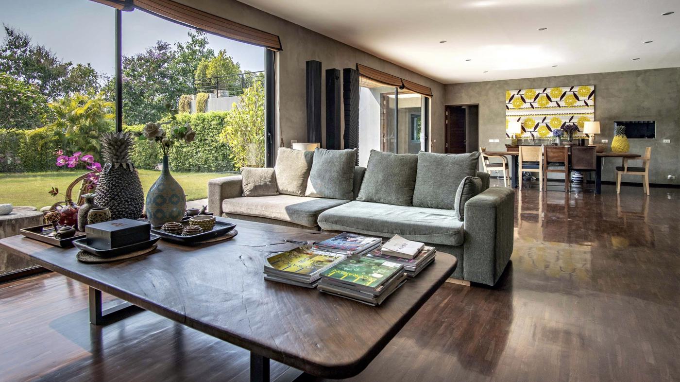 Natural Villas | Chiang Mai Luxury Private Pool Villa | Living Room
