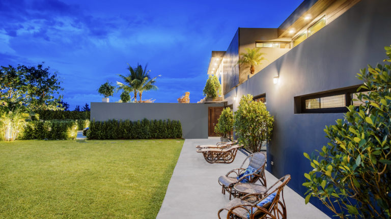 Chiang Mai Luxury Private Pool Villa | Listing Page | Garden + Terrace Slide Show Photo 3