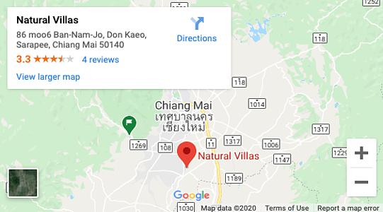 Chiang Mai Luxury Private Pool Villa _ Google Maps Location