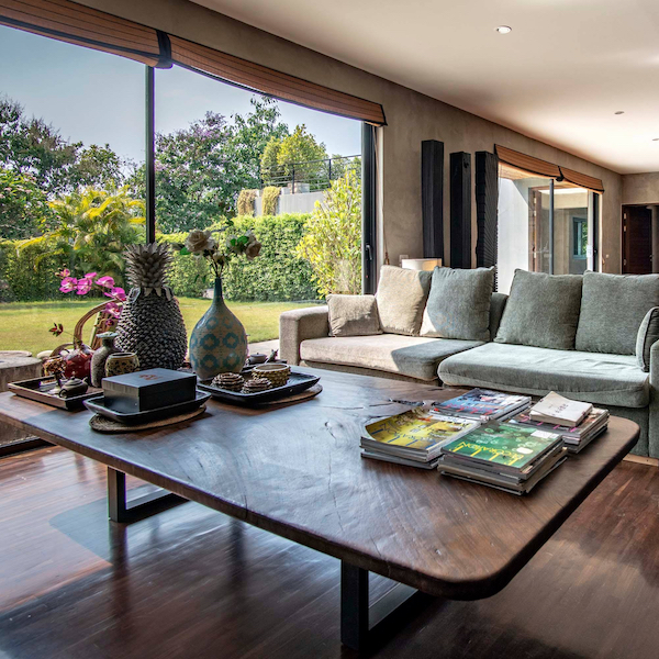 Chiang Mai Luxury Private Pool Villa | SQUARE | Living Room