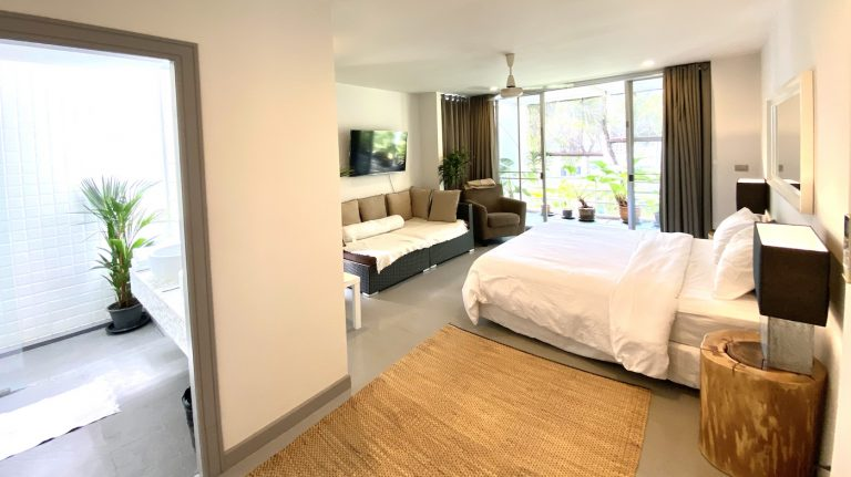 Front Samet Beach House | Slider | Bedroom 2