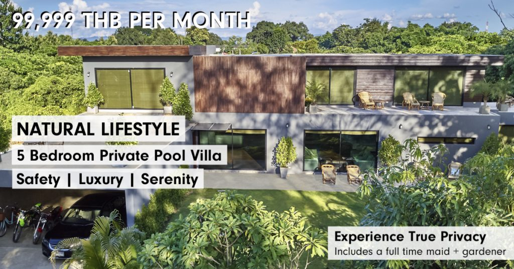 Natural Villas | Chiang Mai Monthly Rental 2021 Promo | Cover Image